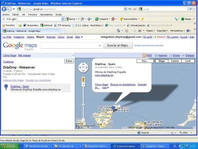 Interfejs Google Maps