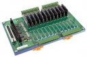 12 Channels Solid State Relay Daughter Board, Opto-22 Compatible, DIN-Rail Mounting, 12x DO