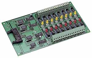 16 Channels AC/DC Isolated Digital Daughter Board, 205x144mm, 16x DI
