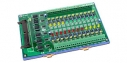24 Channels AC/DC Isolated Digital Daughter Board, Opto-22 Compatible, DIN-Rail mounting, 24x DI