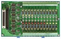 24 Channels AC/DC Isolated Digital Daughter Board, Opto-22 Compatible, DB37 Connector, DIN-Rail Mounting, 24x DI