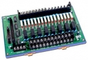 24 Channels Power Relay (12V) Daughter Board, Opto-22 Compatible, DIN-Rail Mounting, 24x DO