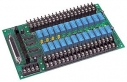 24-channel Power Relay Module, 1 form C, Opto-22 Compatible, DB37 Connector, 24x DO