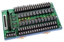 24-channel Power Relay Module, 1 form C, DIN-Rail Mounting, 24x DO