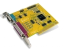 Expansion board, 2x RS-232, 2x LPT, PCI Board, communication card