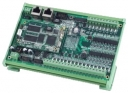 Industrial Programmable Automation Controller Board with 16x isolated DI and 8x Darlington-pair DO, 64MB SDRAM, daughter board, Linux-based, embedded, ARM9 180MHz