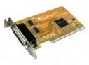 2-port RS-232 & 1-port Parallel Universal PCI Low Profile Multi-I/O Board, communication card
