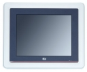 "Compact Fanless Touch Panel Computer, 8.4"" VGA TFT, CPU Intel Atom 1.6GHz, 1x CF, 1x RS-232, 1x RS-232/422/485, 2x USB, 1x 1000base-TX, audio, 1x VGA"
