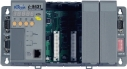 PC AMD188ES 40MHz Industrial Controller, 512kb Flash, 512kb SRAM, 2xRS232, 1xRS232/485, Ethernet 10BaseT, 7-Segment Display, Mini OS7, Modbus/TCP, 4 Expansion Slots