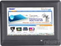 "Touch Panel Computer, 7"" TFT LCD, 800x480, CPU ARM9 32bit 400MHz, 64MB Flash ROM, 128MB SDRAM, 2x RS-232 lub 1x RS-232 1x RS-485, 1x 10/100 Base-TX, 3x USB, SD card, WiFi"