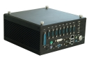 "Embedded computer with CPU Intel® Atom  N270,  2GB RAM, VGA, DVI, 1xCF, 1x2,5"" SATA HDD, 6xCOM, 6xUSB, audio, GPIO, Gigabit Ethernet, 1xMini-PCIe, fanless, size 210x205x96.5mm"