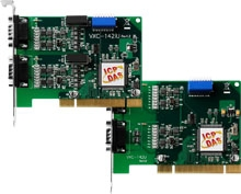 Serial PCI Communication Board with 2 RS-422/485 ports, communication card