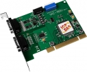 Universal PCI Bus, Serial Communication Board with 1 Isolated RS-422/485 port and 1 RS-232 port (RoHS), communication card