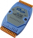 Isolated Digital 8 Channels Input Module w/LED Display, RS-485, distributed i/o, converter