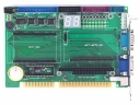 Mity-SoC Module Development Board, 16-bit x-ISA, PC/104 standard, 16-bit x-ISA, IDE, DOC, PRT, GPIO, RS-232, PS/2, VGA, embedded