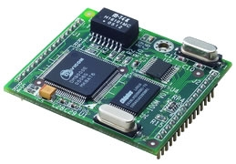 Embedded Converter Module with nine digital I/Os, Ethernet, Programmable Digital I/O, TTL, .